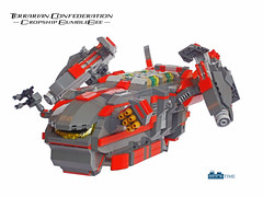 Dropship 2 (THE BRICK TIME Team) Tags: brick ship lego space engine bumblebee spaceship landingcraft con confederation moc dropship terrarian