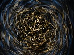 Dark Energy (waruzm) Tags: christmas decorations lights led cameratoss icm intentionalcameramovement