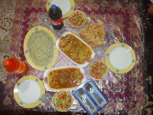 Baluchi Food/Iran