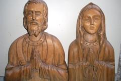 Imagem de São José e Maria (Separados) (Manoel Gomes do Nascimento Filho) Tags: escultor marceneiro