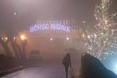 Nebbia (Riccardo Ghinelli) Tags: christmas fog night rimini nebbia natale notte borgosangiuliano