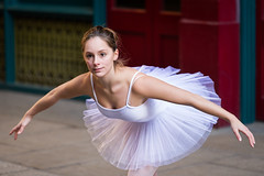 Poise (MartinCPhotos) Tags: london zoe nikon ballerina martin market leadenhall d600 2470