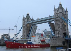 S.A. Agulhas & Tower Bridge (cocabeenslinky) Tags: africa road charity city uk bridge england west london tower expedition up thames trek canon river town is december ship open power darkness shot photos south united capital kingdom antarctica vessel powershot pole adventure journey seeing end record cape sa sir believing attempt westend hs vessels permanent 2012 antarctic coldest opened the kaapstad agulhas fiennes 2013 ranulph sx220 cocabeenslinky