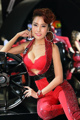 IG9C6993 (tony8888) Tags: car race thailand model pretty expo bangkok queen impact motor 2012 pretties