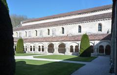Abbaye de Fontenay from Cloister