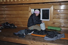 Packing up (Umnak) Tags: alaska forest backpacking tongass campingcove
