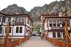 Kprden geerken (Atakan Eser) Tags: city rock turkey river trkiye turkiye ottoman kaya nehir amasya turkei osmanl ehir ehzade dsc5610 yeilrmak kayamezar