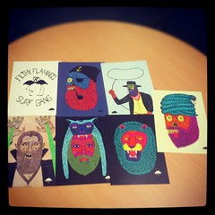 Some prints, what's your favorite? (Mulga The Artist) Tags: square squareformat iphoneography instagramapp xproii uploaded:by=instagram
