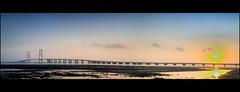 Suramadu Bridge (dhannidaelami) Tags: indonesia java jawa borobudur karimunjawa soloist dieng lonelytraveller tokek situpatengang kampungnaga dhanni daelami kutukupret tokekphotographer dhannidaelami tokekphotographers
