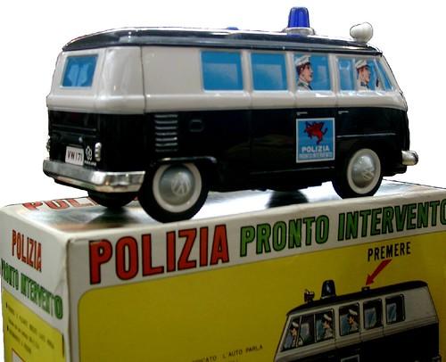 Yonezawa VW Polizia
