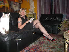 Magda_2012_445 (magda-liebe) Tags: french glasses highheels tgirl crossdresser outgoing travesti fullyfashionedstockings
