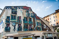 Gare Routire de Cannes (Photo Rusch) Tags: film de this with gare cannes hundred years tribute decorated nearly trompe spanning routire doeil