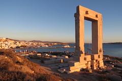 IMG_0477 (john blopus) Tags: naxos   hellas greece  island cyclades  beach  sea   water  gateway  archaelogicalsite