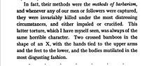 Stanley Coxon's description of the crucifixion scene in Burma - 1915 (SSAVE w/ over 5 MILLION views THX) Tags: burma prisoners torture dacoits 1915 crucify crucifixion