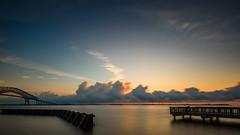 Key Bridge (slimjim340) Tags: 2016 august keybridge sunrise long exposure ndfilter bridge maryland