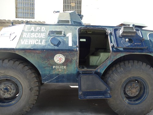 Lapd Cadillac Gage Commando V100 Armored Vehicle 6 A Photo On