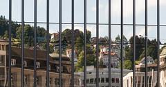 life in a mirror (rooibusch) Tags: schweiz rathaus fasade glas spiegel mirror