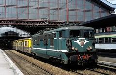 16548  Lille  19.05.93 (w. + h. brutzer) Tags: lille eisenbahn eisenbahnen train trains frankreich france railway elok eloks lokomotive locomotive zug 16000 sncf webru analog nikon