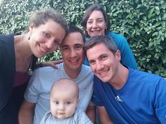 Avec Sophie, Benoit et Matthias