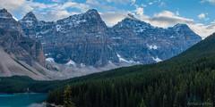 Panorama 8 (Adrian De Lisle) Tags: lakemoraine banffnationalpark banff mountains clouds panorama
