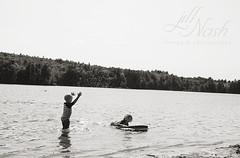 Splish splash (grilljam) Tags: rangepondstatepark maine summer september2016 labordayweekend thelasthoorah weekendingasafamily ewan 7yrs seamus 4yrs