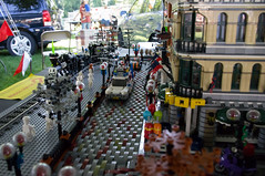 "Franklin Village ""Art in the Park"" (Fuzzy Thoughts) Tags: lego artinthepark ghostbusters glug"