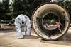 Kids & Hole (Cristiano Drago) Tags: canon cristianodrago 650d cantiericulturali zisa palermo italia italy art arte kids kid bambini bambino hole tubo pipe tubatura ilobsterit nationalgeographic