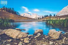 Lake - Long Exposure. (lukeboggi) Tags: lake long exposure longexposure photography nd1000 nd filter nature mountain camping sky clouds blur nikon d5200 18140