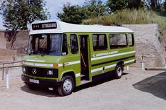 M&D 1009 C209EKJ (pjlcsmith2) Tags: chatham fortamhurst motorheritage86 c209ekj mercedes rootes minibus md maidstonedistrict