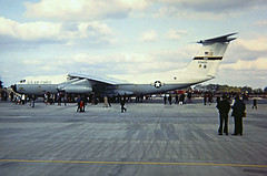 Over from Dover (crusader752) Tags: usaf unitedstatesairforce lockheed c141a starlifter 659401 mac militaryairliftcommand rafmildenhall openhouse 1972 transport aircraft jet 436thmaw usairforce