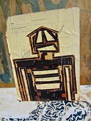 Street Art, New York, NY (Robby Virus) Tags: newyork newyorkcity nyc ny manhattan city bigapple street art math mathematics quiz test homework figure robot humanoid paste pasted wheatpaste