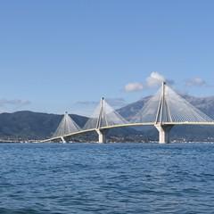 Bridge of Rio (isklikas01) Tags: bridge sea partly cloudy day morning