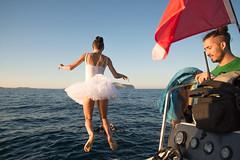 Jump out (Gianni Trux) Tags: giannitrudu gianni trudu trux giannitrux d600 nikon olbia sardegna mare summer fotografia digitale tutu dancer ballerina salto jump diletta adolfo maciocco