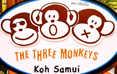 KOH SAMUI ISLAND SIGN (patrick555666751) Tags: koh samui island sign enseigne asie asia du sud est south east kho ko thailand thailande kohsamuiislandsign the three monkeys
