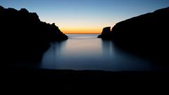 Until the end of the world - Costa Brava (DreamSlayer) Tags: costa brava cala bramant blue hour llana catalonian catalua catalunya