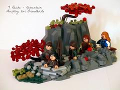Ausflug zur Brandküste (noggy85) Tags: lego castle moc dwarf zwerg 9reiche ninekingdoms herbst autumn berge mountains