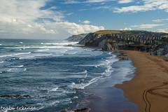 Sopela-Basque Country-002-2 (fadercini) Tags: sopela marejada nubes olas playa