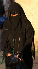 black and green (niqabi_travel) Tags: niqab veil muslim lady women islam