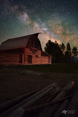 Leftover Logs (Mike Berenson - Colorado Captures) Tags: allrightsreserved coloradocaptures copyright2016bymikeberenson logs mikeberenson milkyway moultonbarn nature night pentax stars wyoming mormonrow barn tetons grandteton grandtetonnationalpark nationalpark astrometrydotnet:id=nova1740748 astrometrydotnet:status=failed