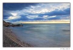 Seda ( Marco Antonio Soler ) Tags: nikon d80 jpg hdr iso amanecer amaneceres landscape seascape nubes clouds playa beach mar sea mediterraneo mediterranean alicante alacant espaa spain 2016 16