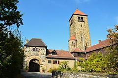 Wachenburg (Tobi NDH) Tags: wachenburg castle burg building architecture architektur weinheim rheinneckarkreis odenwald badenwrttemberg 2016 sky deutschland germany