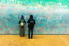 Drawing (petia.balabanova(tnx for +1.500.000 views)) Tags: gallery street graffiti art centregeorgespompidou backshot drawing paris parigi france travel pompidou museum colours 2470mm nikond800 people