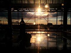 la srnit d'une ville 2 - Centre Pompidou, Paris (Nilou) (Nilou & Payam) Tags: centre pompidou paris rain sun ladfense raindrops cloud sky outdoor iphone5s
