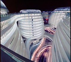 Zaha's Galaxy of offices (Ben Lepley +_+) Tags: china retail architecture facade office soho smooth beijing commercial flowing organic capitalist zahahadid   mixeduse      sohosoho
