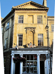 photo - Bath (Jassy-50) Tags: greatbritain england shop photo store bath coatofarms lion pharmacy storefront storewindow unicorn