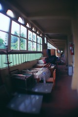 Angle nursery()/Nikon FM2 () Tags: school film 35mm nikon ruins fuji angle nursery taiwan 400 taichung f2 af  fm2     xtra