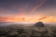 Nowhere (andywon) Tags: sunset sky nature colors grass landscape island iceland empty nowhere highland swamp plains egilsstadir snaefell lagarfljt