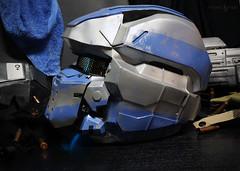 Halo 4 Warrior (Tsabo Tsaboc) Tags: 3 real chief 4 helmet halo master armor impact warrior reach props spartan cortana