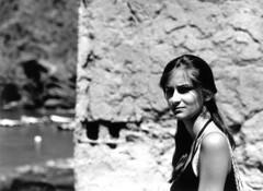 Barbara (Marco Borghi) Tags: darkroom portraits canon blackwhite ritratti biancoenero canoneos3 pellicola analogico cameraoscura canon1740lf4 marcoborghi