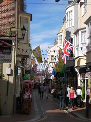 Weymouth Flags (Worthing Wanderer) Tags: summer coast seaside sunny resort dorset seafront weymouth london2012 southwestcoastpath